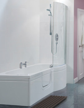 Related Balterley Buttermere Easy Access Left Hand Walk-In Spa Bath Pack