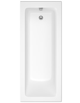 Beo Ice Single Ended Reinforced Bath 1600 x 700mm
