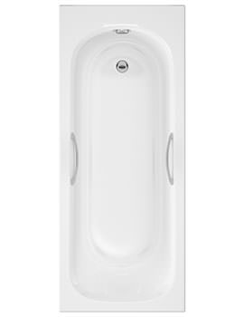 Balterley Access Single Ended Standard Bath With Grips 1700 x 700mm