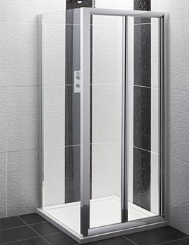 Balterley Framed Bi-Fold Shower Door 800mm - AQBD8
