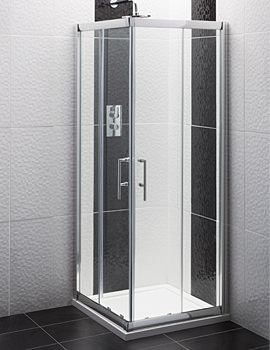 Framed Corner Entry Shower Enclosure 760mm - AFCE7676