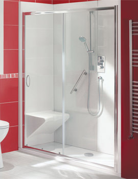 Balterley Bath Out Shower In Enclosure Package 1700 x 700mm