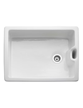 Classic Belfast 1.0 Bowl White Ceramic Kitchen Sink