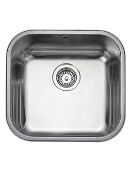 Atlantic Classic Undermount 1 Bowl Kitchen Sink 460mm