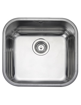 Atlantic Classic 1 Bowl Undermount Kitchen Sink 490mm