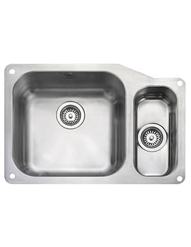 Atlantic Classic 1.5 Bowl 671mm Undermount Kitchen Sink RH