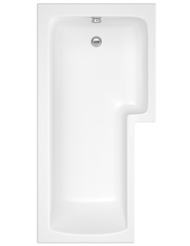 Balterley Square Right Hand Showerbath 1500 x 850mm - BMBS1585R