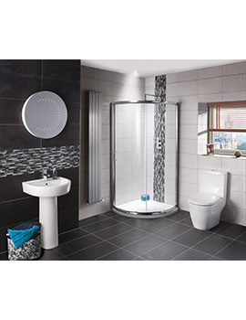 Balterley Elation Bathroom Suite With Shower Quadrant