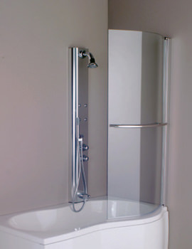Parma 1500mm Right Handed Shower Screen - 154IRISSCRRH