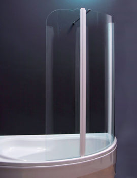 Olbia 1600mm Left Handed Shower Screen - 154OLBIALH