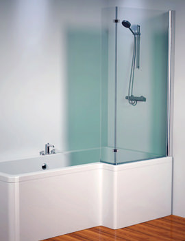Thames 1500mm Right Shower Screen - 154THAMESSCRH