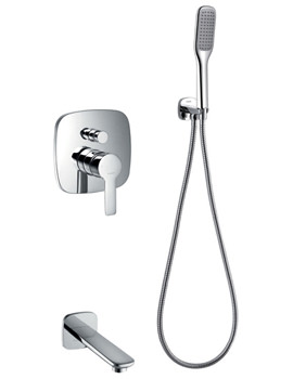Urban Manual Valve With Diverter - Handset Kit And Bath Spout
