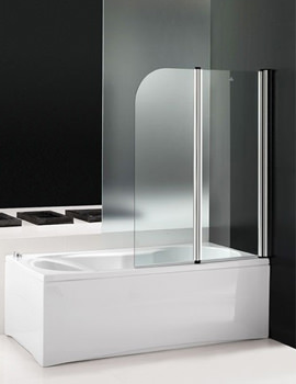 Titan II 1400mm Double Folding Shower Screen - 154TITAN2