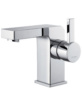 Str8 105mm High Basin Mixer Tap With Clicker Waste