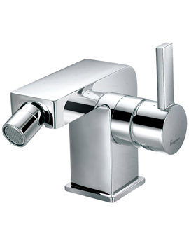 Related Flova Str8 Deck Mounted Bidet Mixer Tap With Clicker Waste -STBID