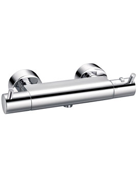 Flova Levo Exposed Thermostatic Bar Shower Valve - LVTBV