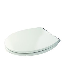 Croydex Dawson White Soft Close Toilet Seat - WL530522H