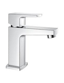 Flova Dekka Cloakroom Basin Mixer Tap With Clicker Waste