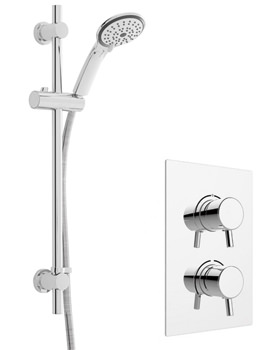 Heritage Orbit Concealed Shower Valve And Deluxe Flexible Kit