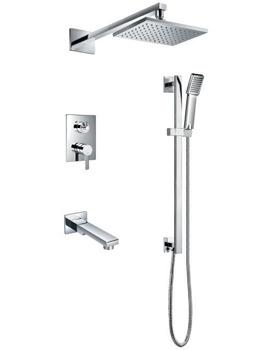Essence Manual Complete Shower Set With Bath Spout