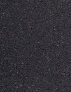 Related Heritage Classic Black Solid Surface 1.4 Metre Left Curved End Worktop