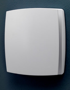 Breeze Wall Mounted White Extractor Fan With Timer And Humidity Sensor