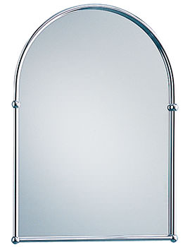 Heritage Arched 488 x 673mm Mirror Chrome - AHC09