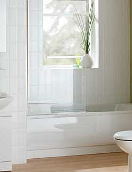 Essential Gem Bathroom Suite With Coast Bath 1700mm x 700mm
