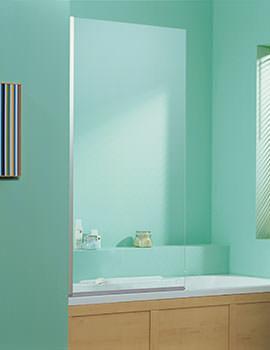 Heritage Contemporary Bathscreen 1500 x 850mm - SBCP02