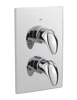 Modena Thermostatic Concealed Shower Valve - 95420