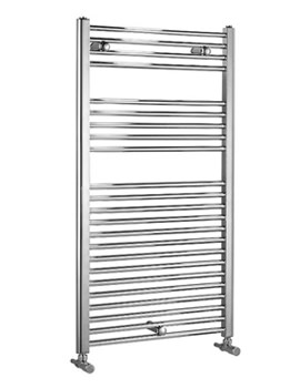 Biasi Dolomite Chrome Straight Heated Towel Rail 400 x 1600mm