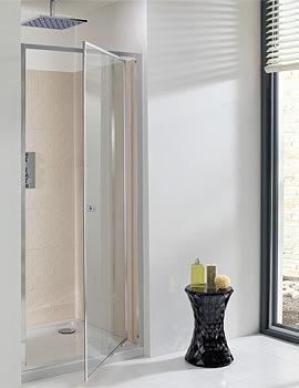 Edge Pivot Shower Door 760mm - EPDSC0760