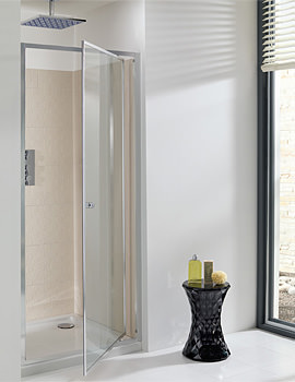 Simpsons Edge Pivot Shower Door 800mm - EPDSC0800