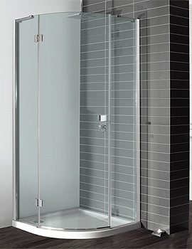 Design Single Door Quadrant Enclosure 900mm