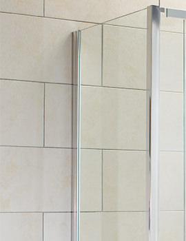 Aquadart Elation 900mm Side Panel For Shower Enclosure