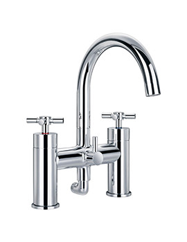 XL Bath Shower-Mixer Tap With Handset And Hose