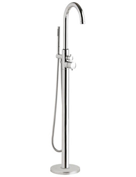Hudson Reed Thermostatic Freestanding Bath Shower Mixer Tap - PN322