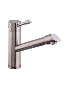 Mayfair Dune Kitchen Mono Tap Brushed Chrome - KIT223