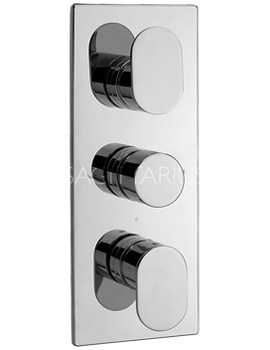 Sagittarius Plaza Concealed Thermostatic Shower Valve With 3 Way Diverter