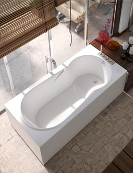 Beo Status 5mm Acrylic Single Ended Bath 1700 x 700mm White