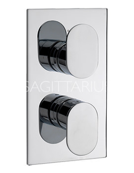 Sagittarius Plaza Concealed Thermostatic Shower Valve - PL-172-C