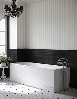 Beo Portrait Single Ended Bath 1700 x 700mm White
