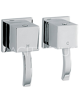 Arke Wall Mounted Pair Of Side Valves