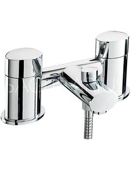 Related Sagittarius Oveta Deck Mounted Bath Shower Mixer Tap With Kit