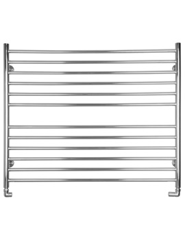 Midi Wide Dual Fuel Towel Radiator 1000 x 810mm - SS204