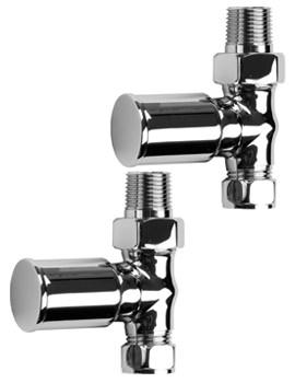 SBH Modern Straight Radiator Valves - SBH3