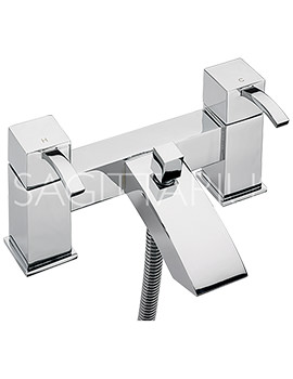 Arke Deck Mounted Bath Shower Mixer Tap And Kit