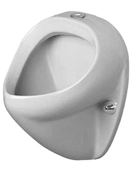 Duravit Jim Urinal With Visible Inlet 345 x 350mm - 0850350000