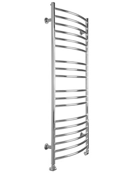 Maxi Curve Electric Heated Towel Radiator 600 x 1300mm