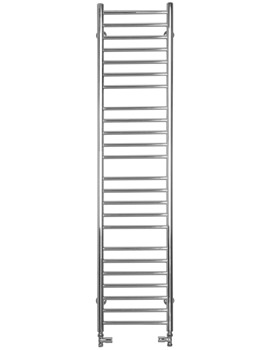 Mega Slim Flat Dual Fuel Towel Radiator 360mm x 1600mm - SS400